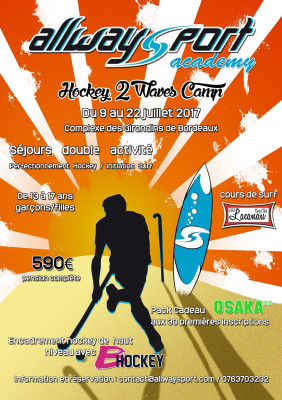 Hockey 2 Waves Camp