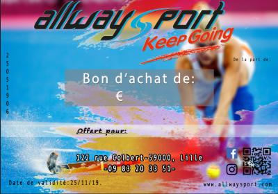 Bon Cadeau ALLWAYSPORT
