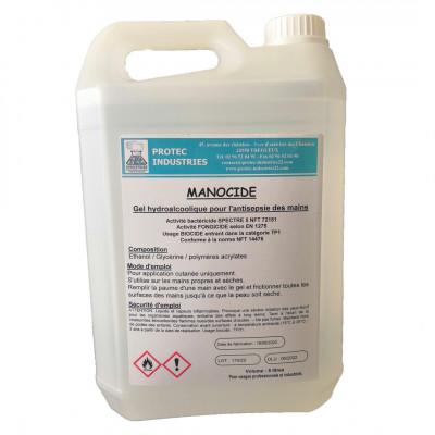 Bidon Gel Hydroalcoolique 5L