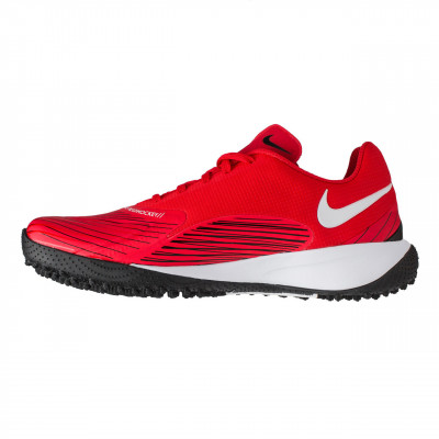 0080.NIKE Vapor Drive Field Hockey Rouge